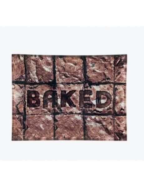 Bandeja de cristal |Brownies baked| Para liar.