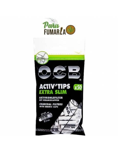 OCB filtros carbón activo...