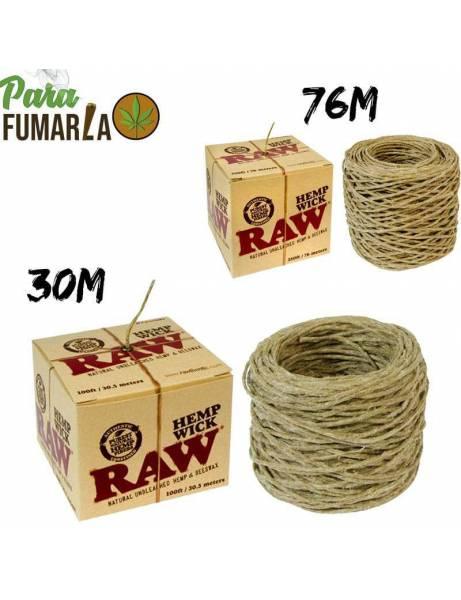 RAW Cuerda de cáñamo 30 y 76m
