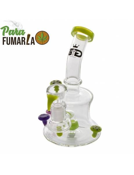 Bong Grace Glass Mushroom. 16cm