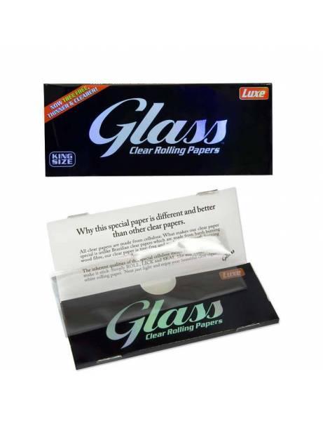 Papel de liar glass transparente