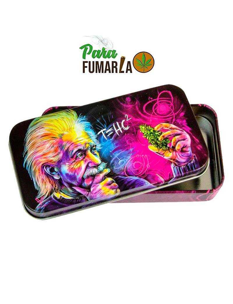 Caja metal Einstein Thc2