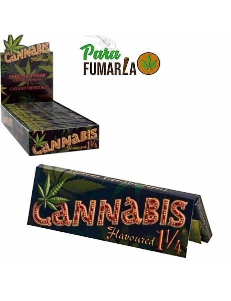 Papel sabor a cannabis 1 1/4