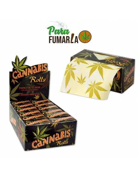 Papel con sabor a cannabis rollo