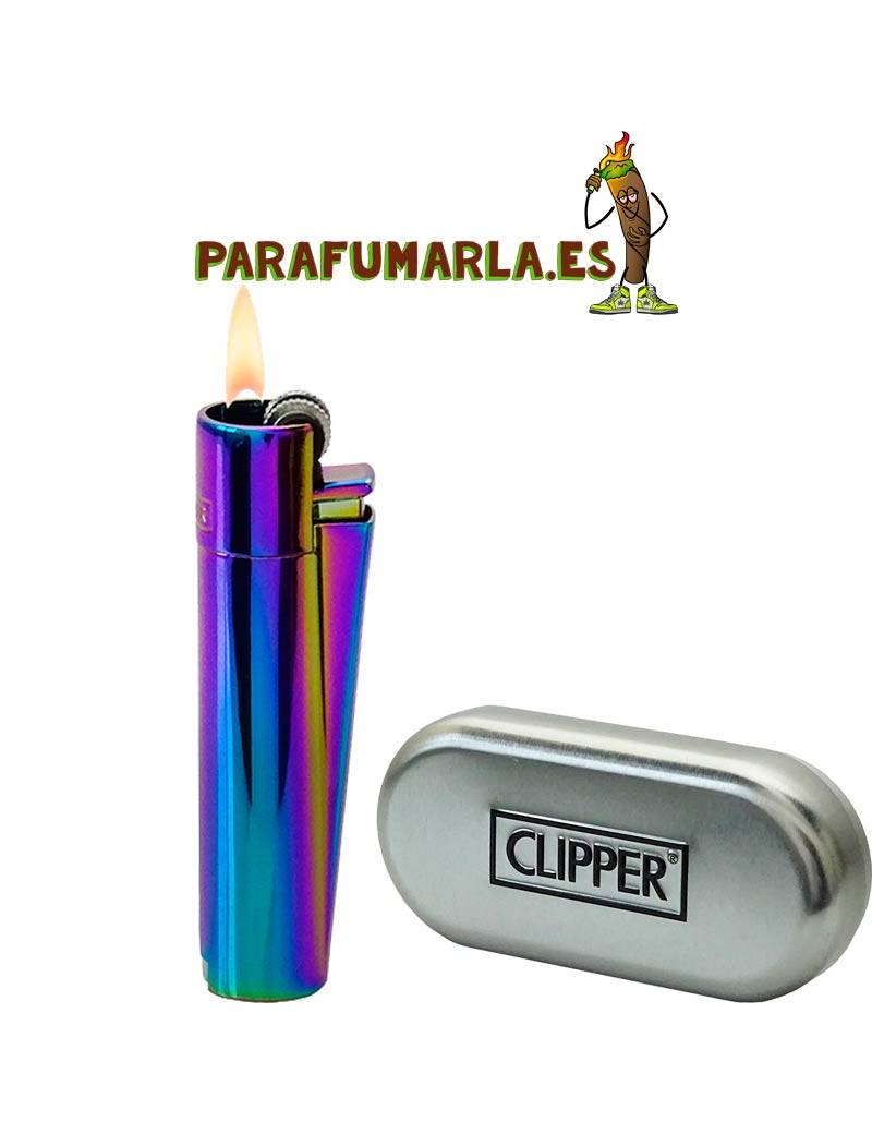 clipper metal rainbow
