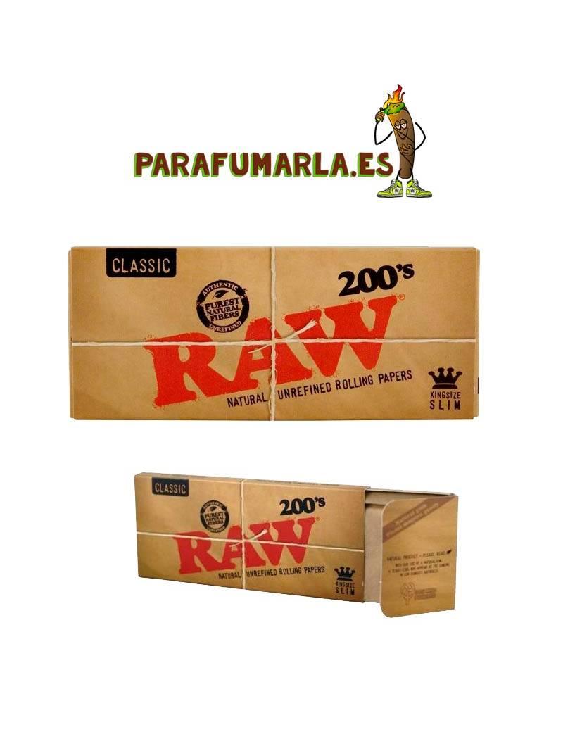 papel raw 200 largo