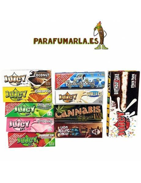 Pack 10 papel de sabores MIX.