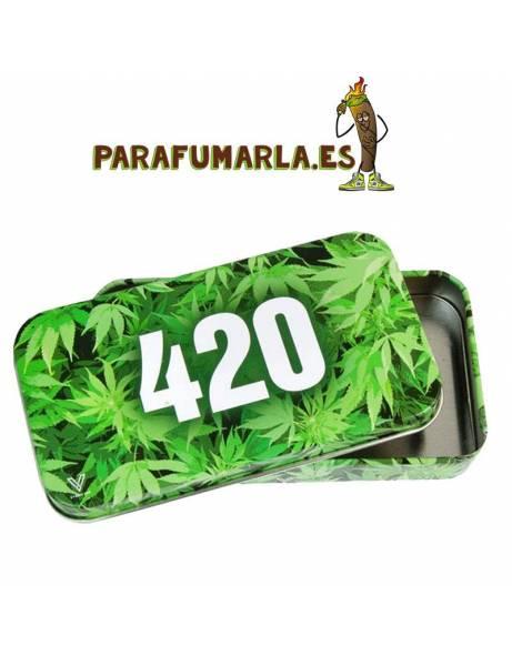 caja metal 420 verde