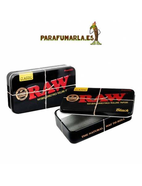 caja raw black