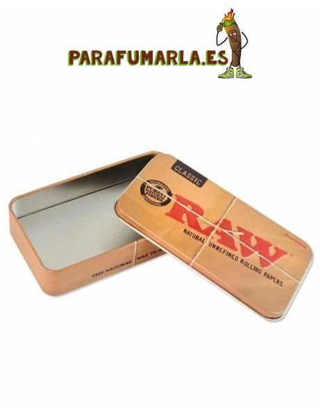 caja de metal raw