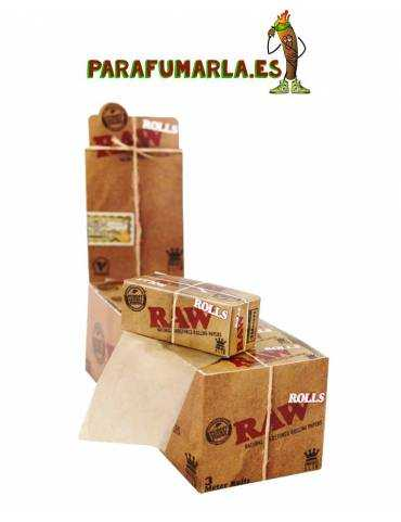 caja 12 unidades rollo raw
