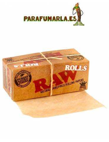 papel raw de rollo largo 3m
