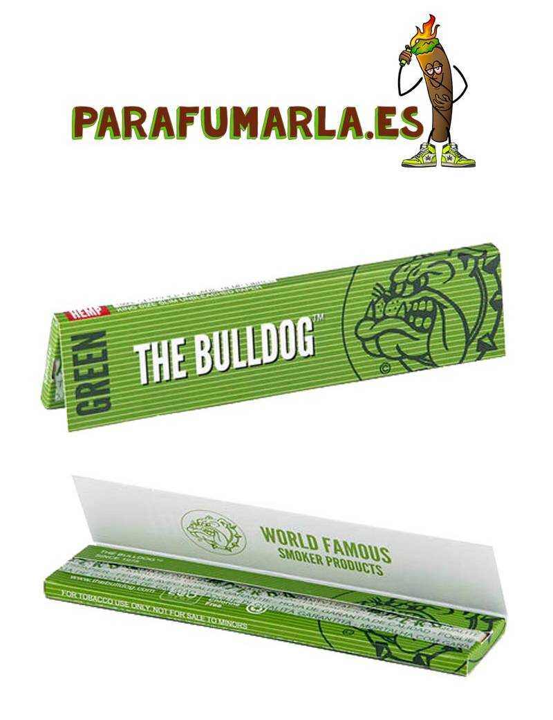 Papel green King Size The Bulldog