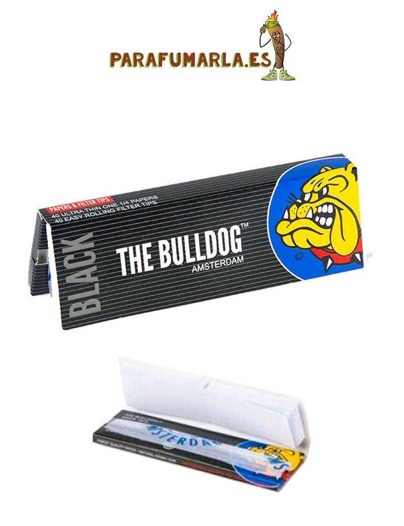 Bulldog Amsterdam 1 1/4 + cartones