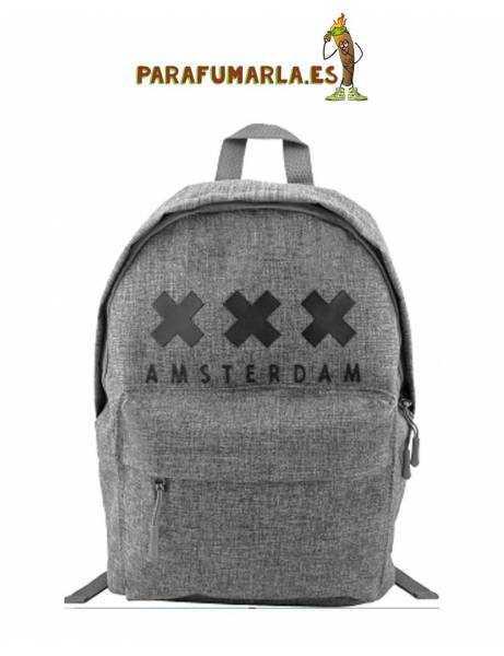 Mochila XXX Amsterdam gris