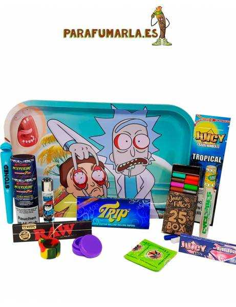 Pack ¡Ojo! Rick And Morty