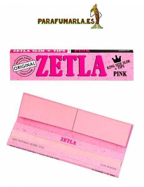 Zetla KS + Filtros de cartón rosa.
