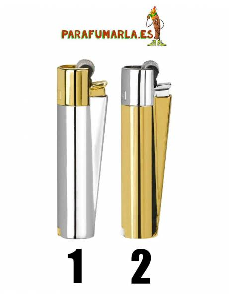 Clipper metal gold and silver