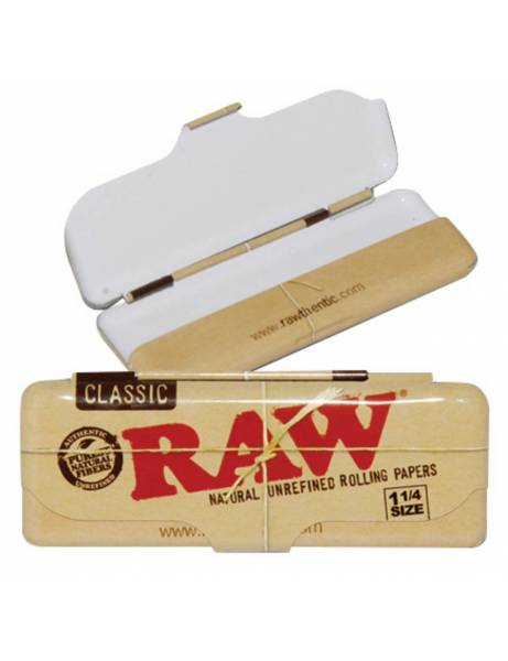 Cajita metálica papel raw 1...