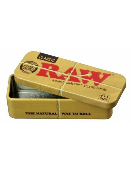 Cajita metal raw roll caddy...