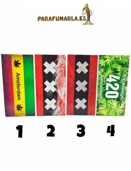 Papel King Size + Tips Amsterdam