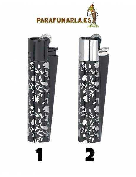 clipper metal micro silver pattern