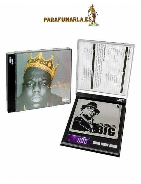 Báscula digital Notorious Big CD. 100g. 0,01g.
