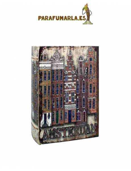 Libro de madera canales de Amsterdam