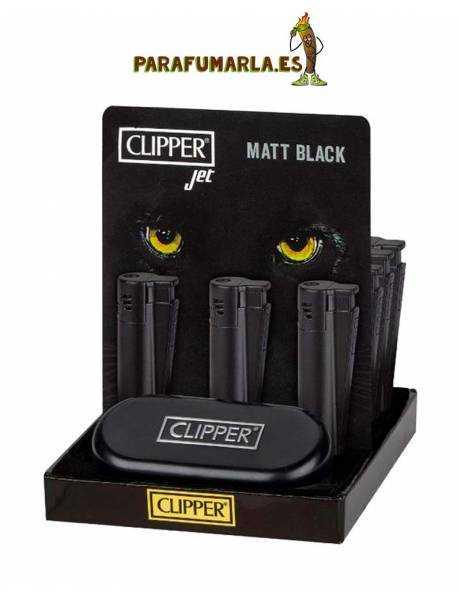 Clipper Metal Jet Matt Black