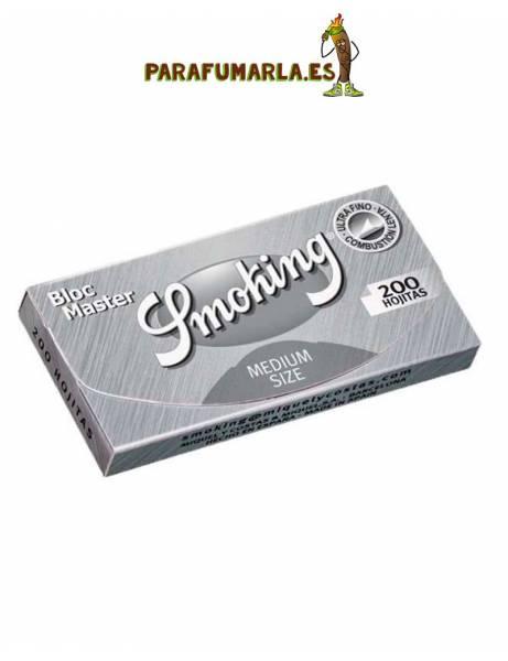 papel smoking 200 plata