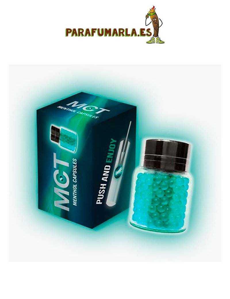 capsulas sabor menthol