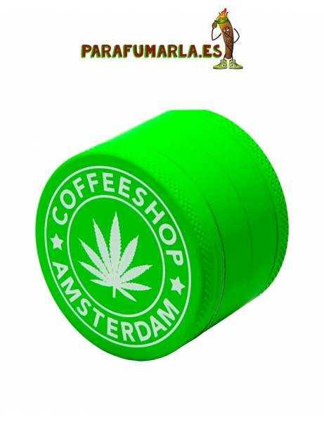 "Grinder ""Green Amsterdam"". 3p. 40mm."