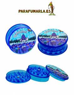 Grinder plástico Purple Haze. 3pcs