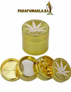 grinder color dorado