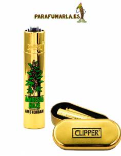Clipper metal Amnesia Haze gold