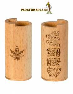 """Funda Clipper """"Weed"""" madera."""
