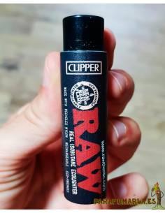 Clipper Raw black con funda