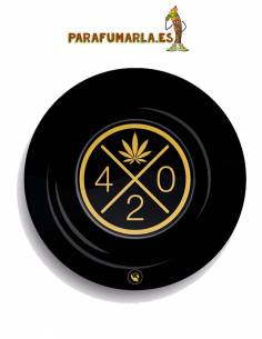 Cenicero 420 gold