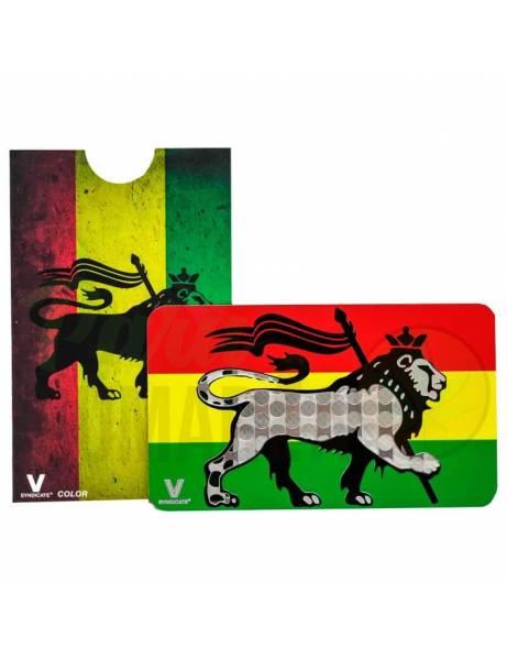 "Grinder Card ""Rasta lion""."