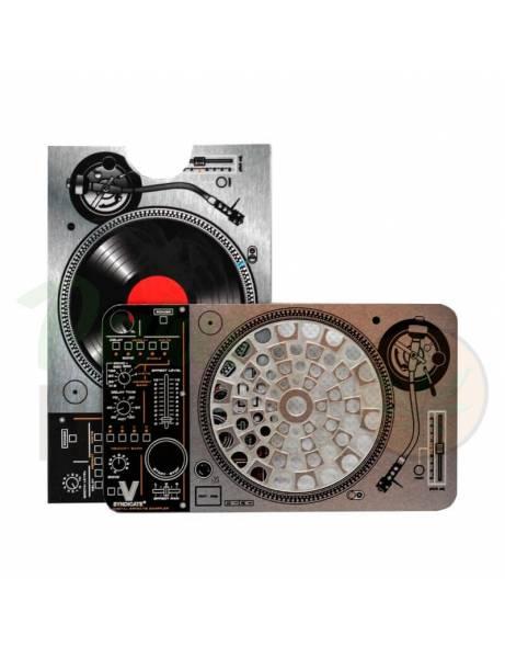 """Grinder Card """"Tocadiscos DJ""""."""