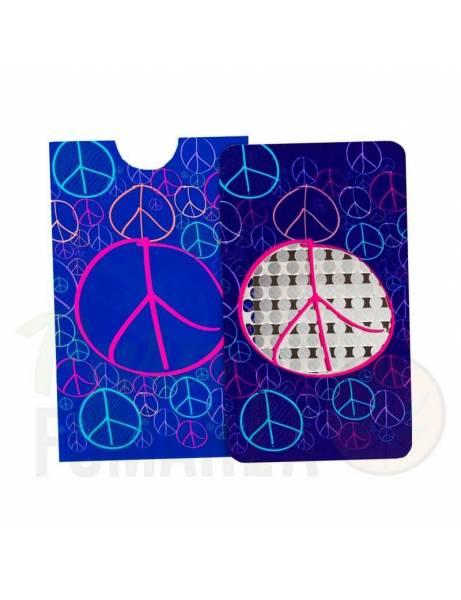 "Grinder Card ""Peace""."