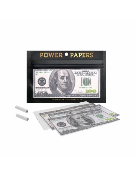 Papeles dollars+ tips. 12u.