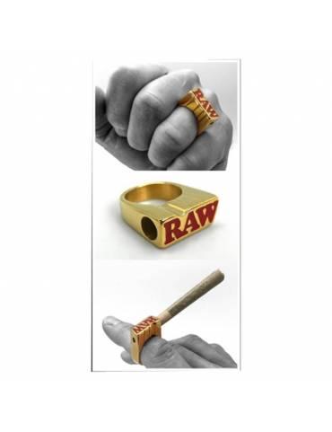 Comprar anillo raw oro de fumar
