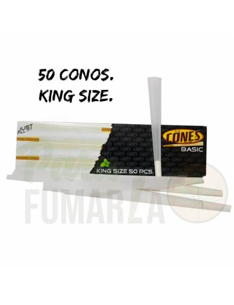 Pack 50 conos King size.