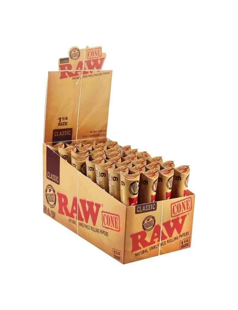 Pack 6 conos RAW 1 1/4.
