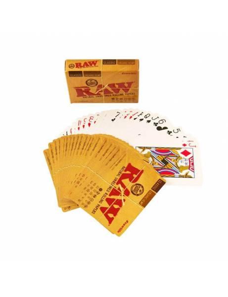 Baraja cartas RAW. Póker