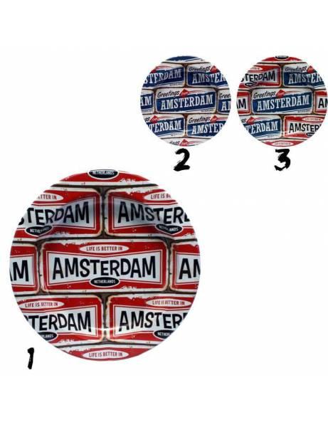 Cenicero metal   Amsterdam 2