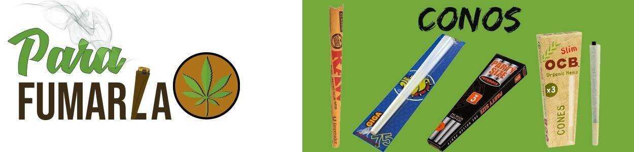 ⇨ Comprar CONOS Para Fumar【ENROLLADOS】