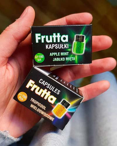 capsulas de sabores para tabaco